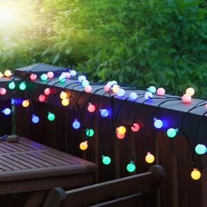 I-Glow XXL LED-Lichterkette mit 180 LEDs, Bunt