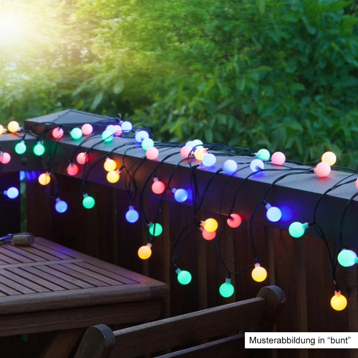 Bild 2 von I-Glow XXL LED-Lichterkette mit 180 LEDs, Warmweiß