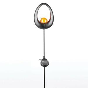 I-Glow LED Solar-Vintage Gartenleuchte, Tulpe