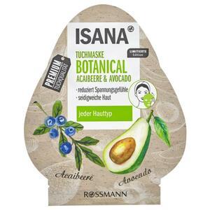 ISANA Tuchmaske Botanical Acaibeere & Avocado
