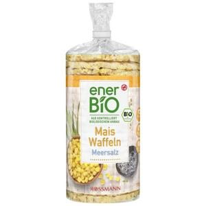 enerBiO Mais Waffeln Meersalz 0.51 EUR/100 g