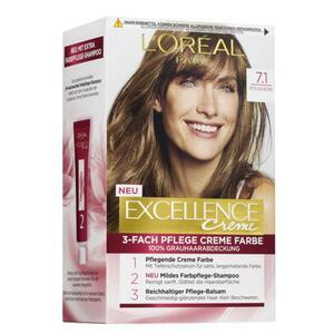 L'Oréal Paris Excellence Creme 7.1 mittelaschblond