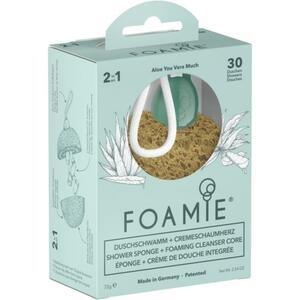 Foamie 2in1 Duschschwamm + Cremeschaumherz Aloe You Vera Much