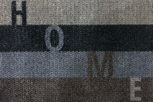 Bella Casa Türmatte Wash & Dry, ca. 40 x 60 cm, Home gestreift