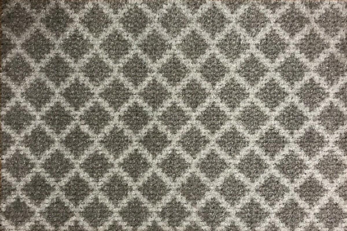 Bild 1 von Bella Casa Türmatte Wash & Dry, ca. 40 x 60 cm, Beige/Weiß Karo