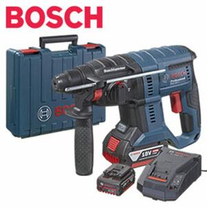 Akku Bohrhammer GBH 180-Li Professional 2 x Akku GBA 18V 4.0Ah, Schlagzahl 0 - 4.550 min-1, Drehzahl 0 - 1.800 min-1,