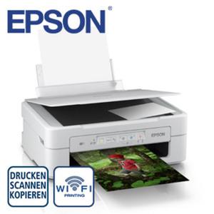 Expression Home XP-257 · kostengünstig drucken mit separaten Einzelpatronen · kabellos drucken und scannen