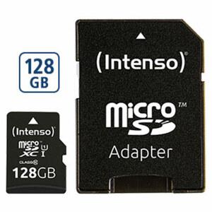 microSDXC-Karte · mit beiliegendem Adapter verwendbar als SDXC-Karte · Class 10 / UHS-I