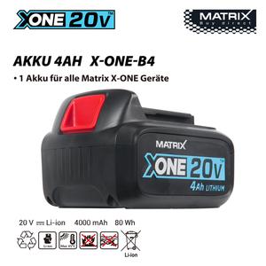 Matrix X-One Akku 4Ah