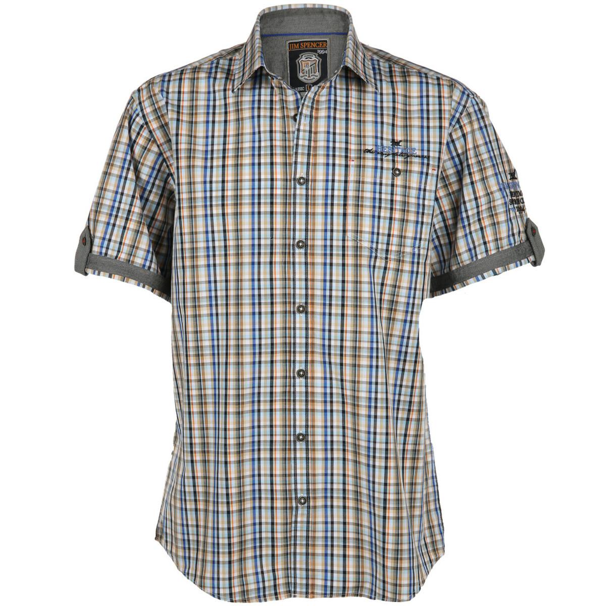 Bild 1 von Herren Freizeithemd mit kurzen Ärmeln