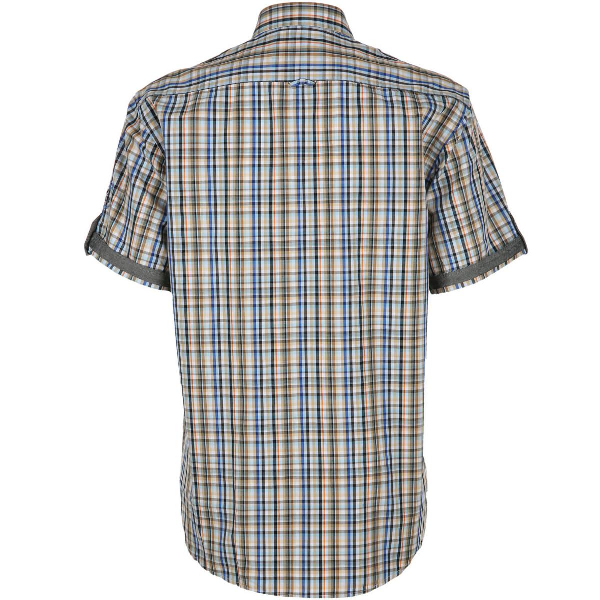 Bild 2 von Herren Freizeithemd mit kurzen Ärmeln