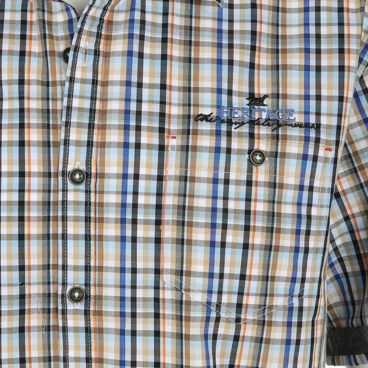 Bild 3 von Herren Freizeithemd mit kurzen Ärmeln