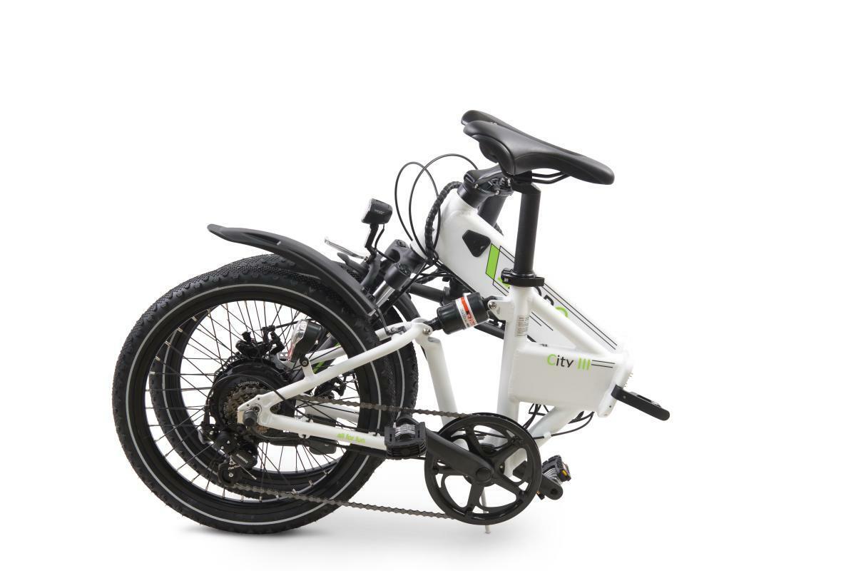 "Bild 4 von Llobe E-Bike 20"" Alu Faltrad City III, Weiß"