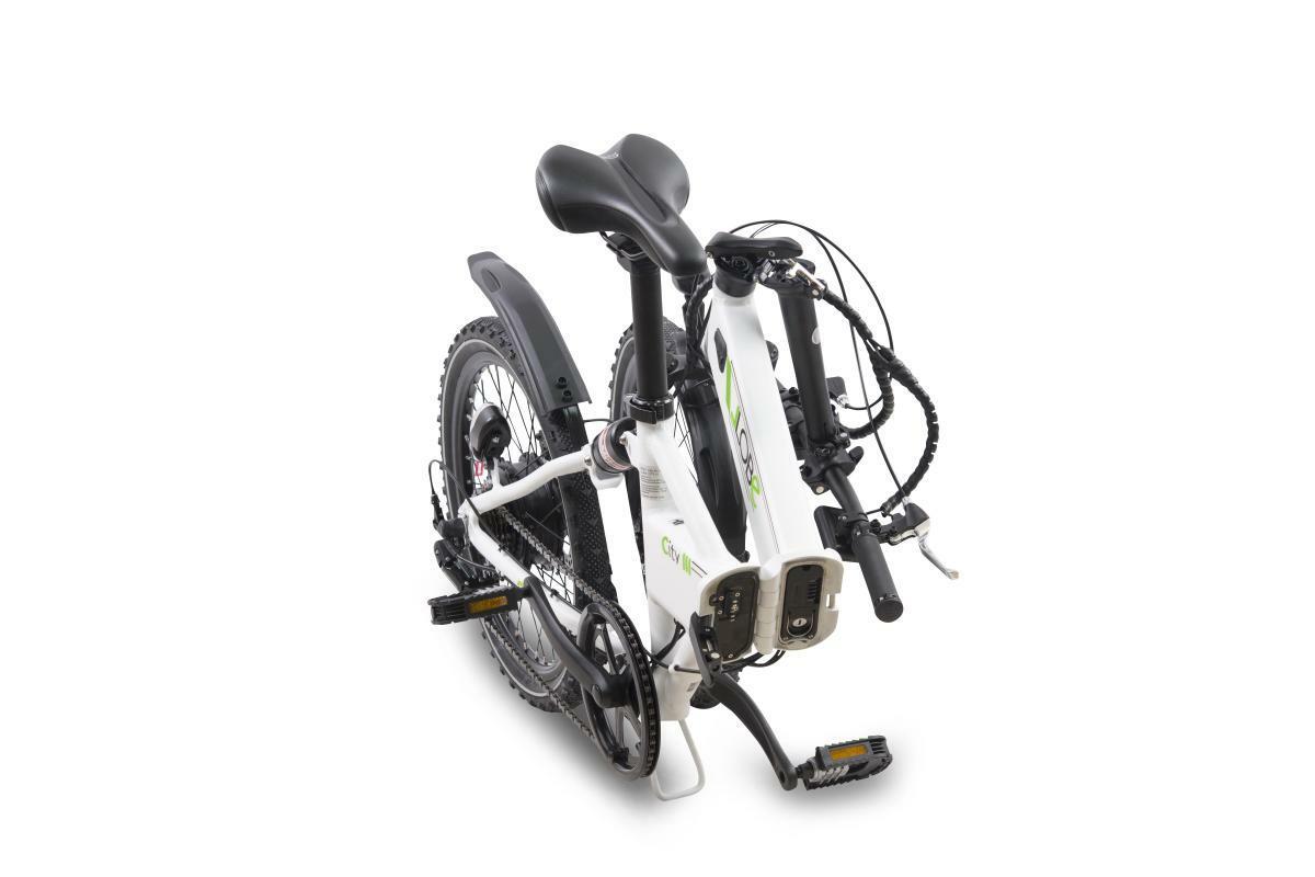 "Bild 5 von Llobe E-Bike 20"" Alu Faltrad City III, Weiß"