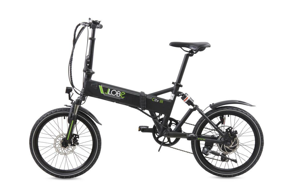 """Bild 3 von Llobe E-Bike 20"""" Alu Faltrad City III, Schwarz"""