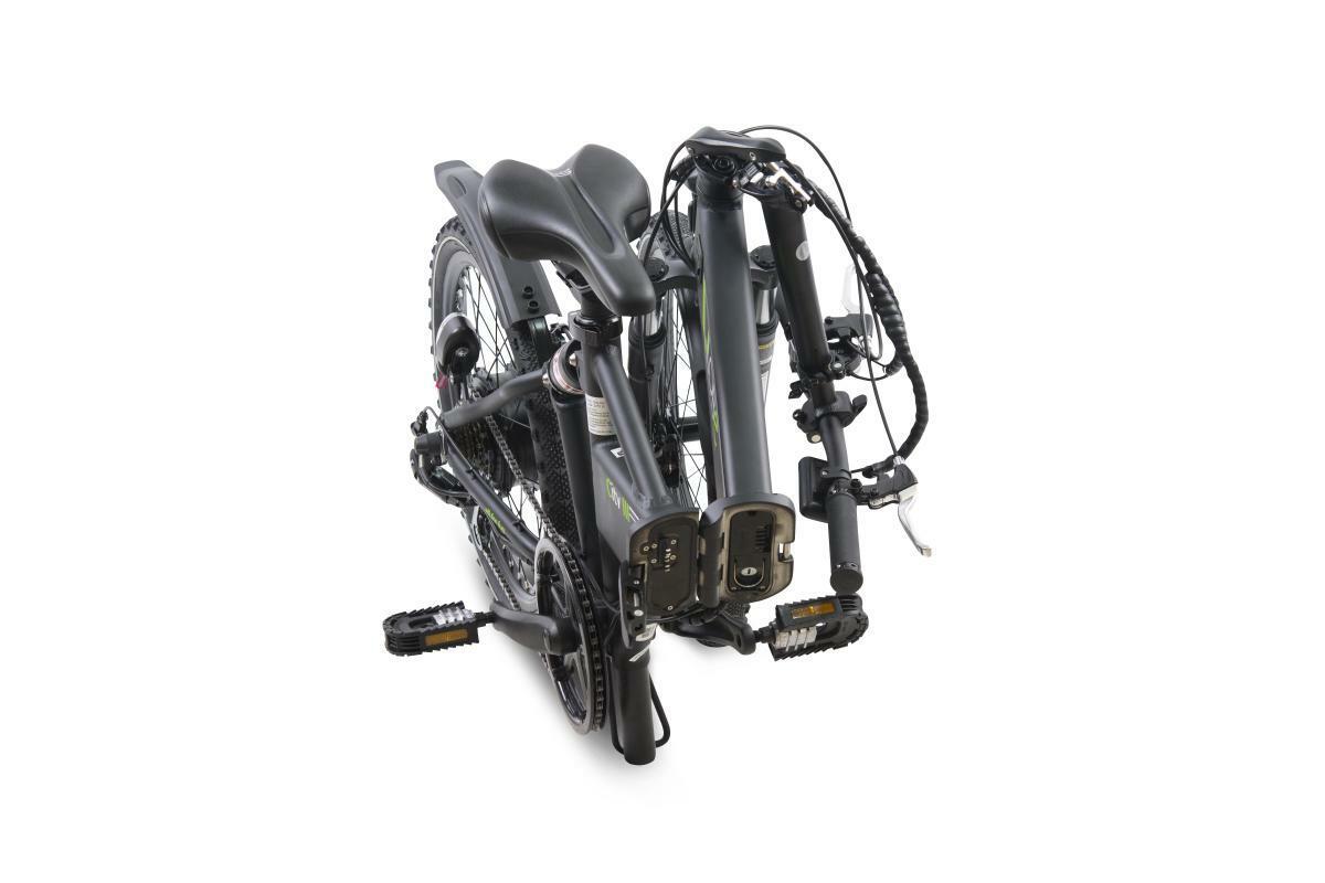"""Bild 4 von Llobe E-Bike 20"""" Alu Faltrad City III, Schwarz"""