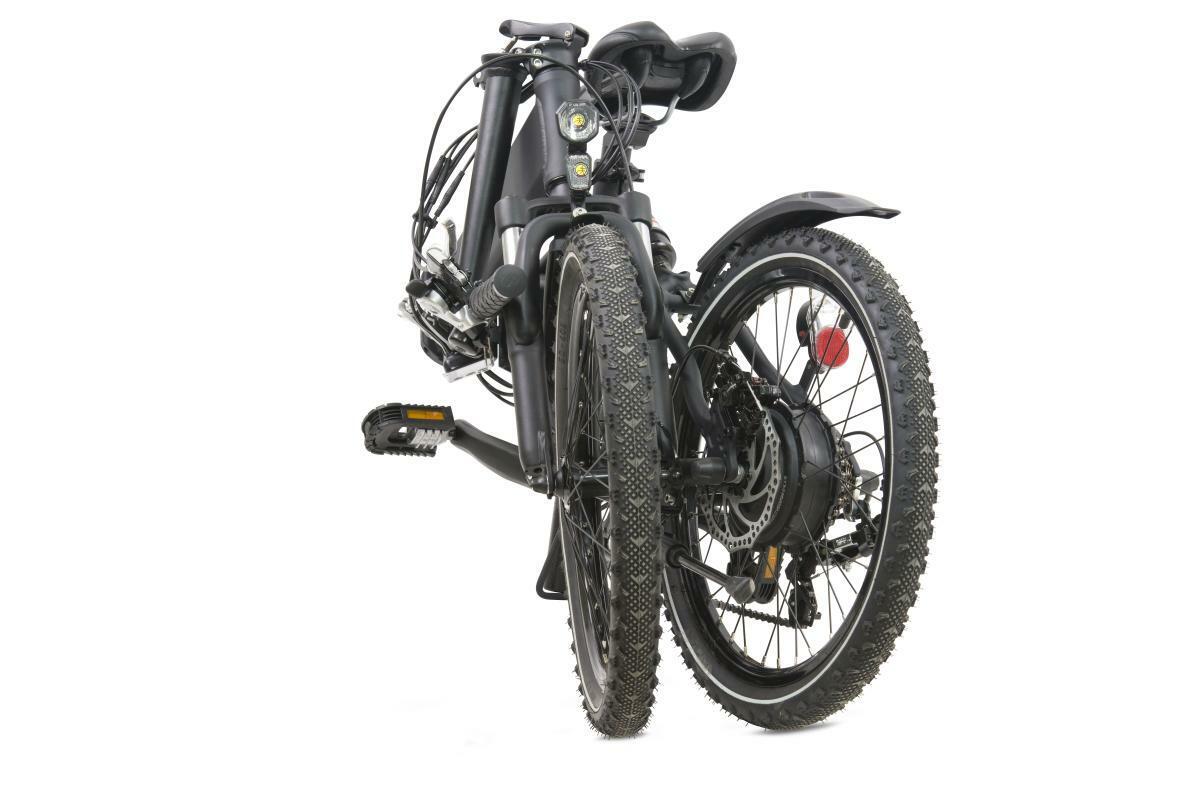 """Bild 5 von Llobe E-Bike 20"""" Alu Faltrad City III, Schwarz"""