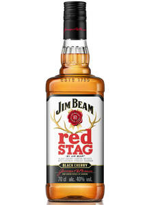 Jim Beam Red Stag USA Whiskey Likör Whiskey | 40,0 % vol | 0,7 l