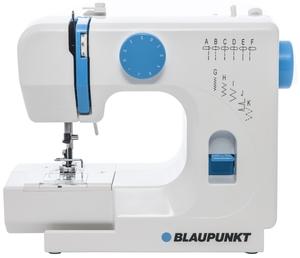 Blaupunkt Smart 625 Freiarm- Nähmaschine mit 11 Nähprogrammen, regelbarer Oberfadenspannung, Rückwärtsnähtaste, Aufspulautomatik und wartungsfreiem LED- Nählicht für blendfreies Nähen