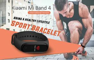 Xiaomi Mi Band 4 Smart Bracelet Bluetooth 5.0 5ATM Waterproof Sports Smartwatch,Aktivitätstracker,AMOLED,Internationale Version