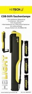 Heitech COB-LED-Stift-Taschenlampe