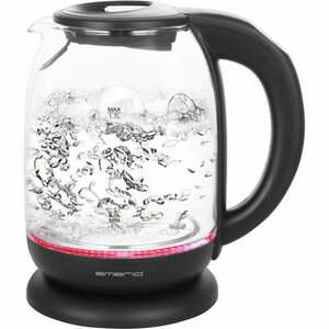 Emerio LED-Glas-Wasserkocher mit Temperaturwahl WK-119255