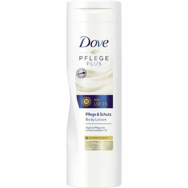 Dove Pflege Plus Pflege & Schutz Body Lotion mit LSF 1 1.20 EUR/100 ml