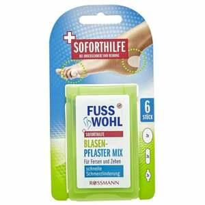 Fusswohl Blasenpflaster Mix für Fersen & Zehen