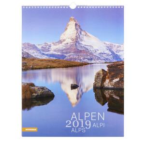 """Bildkalender """"Alpen"""" für 2019"""