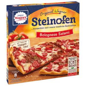 Original Wagner Steinofen Pizza Bolognese Salami Hackfleisch tiefgefroren 350g