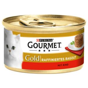 Gourmet Gold raffiniert Ragout Rind 85g