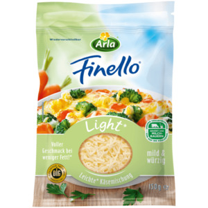 Arla Finello light Streukäse 150g