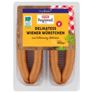 REWE Regional Delikatess Wiener 400g
