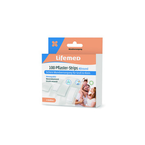 Lifemed Pflaster Strips Allround inhalbtransparent (100 Stück)