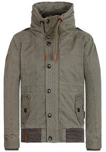NAKETANO Gurkengünstling - Jacke für Herren - Grün