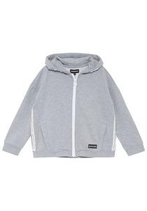 Chiemsee Kapuzensweatshirtjacke - Sweatjacke für Mädchen - Grau