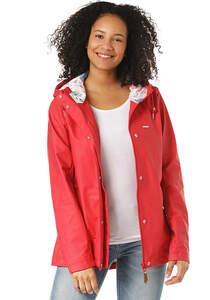 MAZINE Kimberley Rain - Jacke für Damen - Rot
