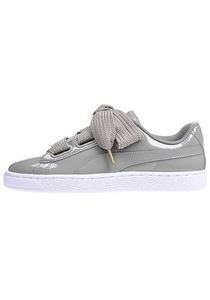 Puma Basket Heart Patent - Sneaker für Damen - Grau