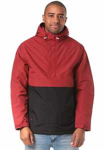 Cleptomanicx City H Hooded Light 2 - Jacke für Herren - Rot