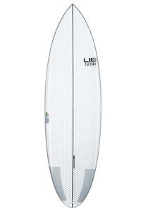 Lib Tech Nude Bowl 6´1´´ Surfbrett - Weiß