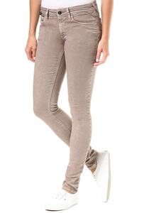 Replay Luz Coin Zip - Jeans für Damen - Braun