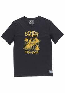 Element Face Off - T-Shirt für Herren - Schwarz