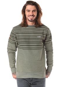 MAZINE Mitcham Striped Heavy - Sweatshirt für Herren - Grün