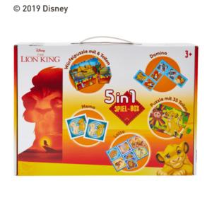 5 in 1 Spiel-Box