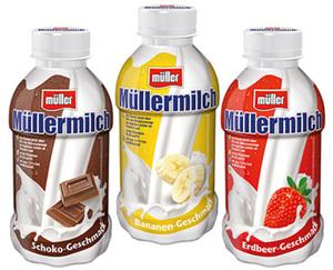 müller Müllermilch oder Müllermilch Shake