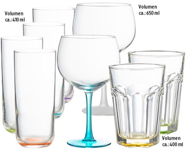 Cocktailgläser, 4er-Set