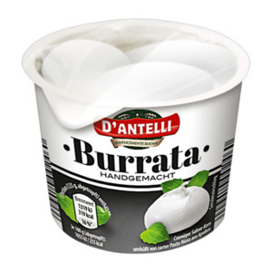 D'ANTELLI  	   Burrata