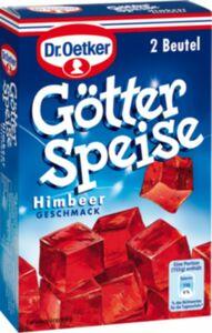 Dr. Oetker Götterspeise Himbeere für 2 x 500 ml Wasser