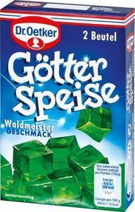 Dr. Oetker Götterspeise Waldmeister für 2 x 500 ml Wasser