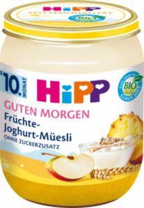 HiPP Bio Guten Morgen Früchte Joghurt Müsli ab dem 10. Monat, 160 g